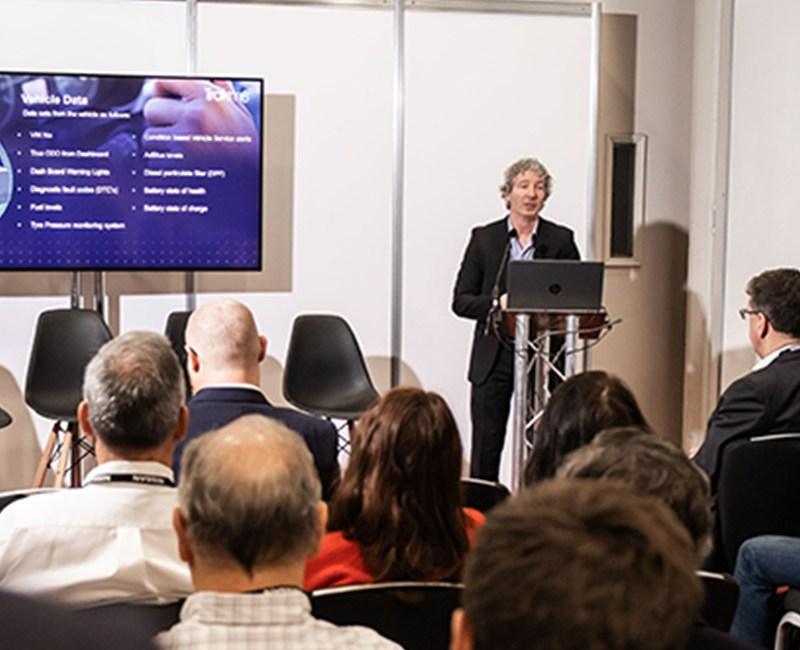 Sean Morris at the British Fleet Event Seminar