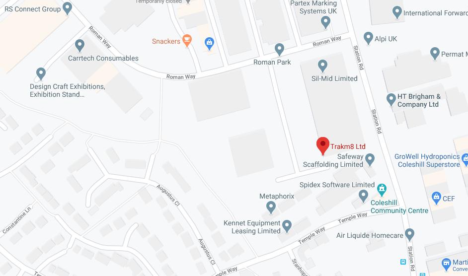 Trakm8 office location