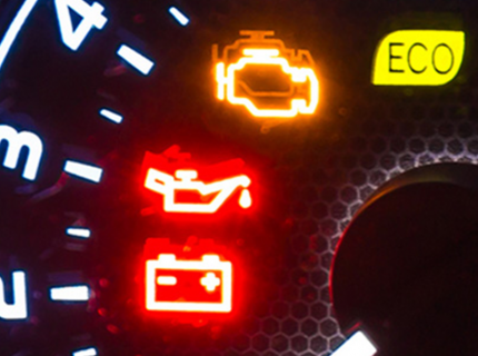 vehicle dash lights