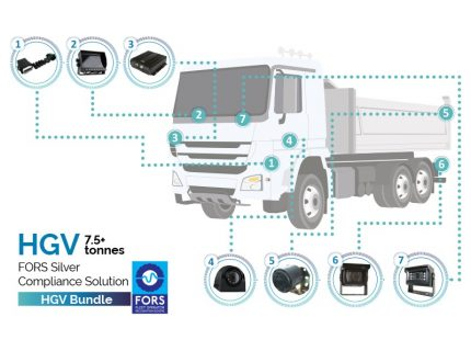 Trakm8 FORS camera package solution for heavy goods vehicles
