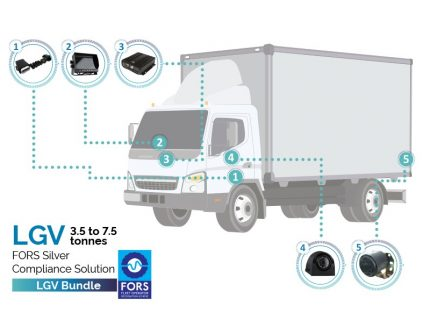 Trakm8 FORS camera package solution for light goods vehicles