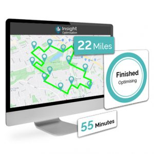 trakm8 insight optimisation software can help reduce route times