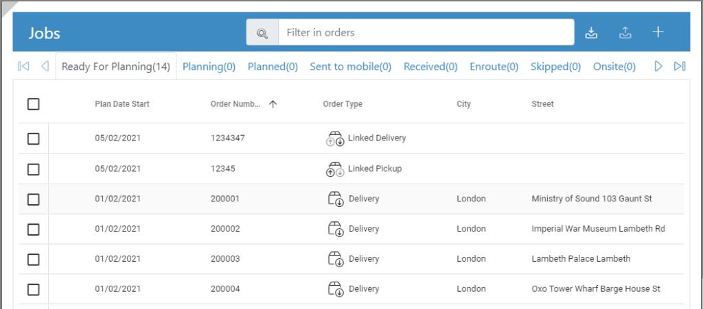 Linked Deliveries (Optimisation)